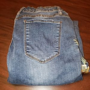 Angel Kiss Los Angeles Distressed Jeans Sz 7